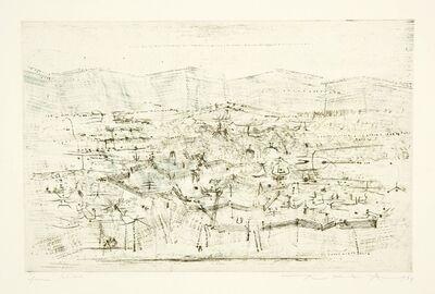 Zao Wou-Ki 趙無極, 'Champs abandonnés', 1954