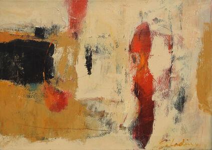 Tony Saladino, 'Red Forms II', 2020