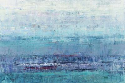 Suzy Barnard, 'Teal and Lavender Grey', 2020