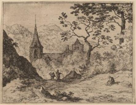 Allart van Everdingen, 'The Steeple', probably c. 1645/1656