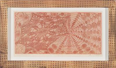 Judy Pfaff, 'Untitled (colored lace)', 2005