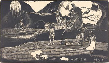 Paul Gauguin, 'Maruru (Thank You)'