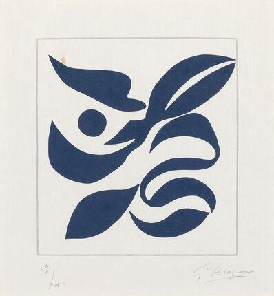 Georges Braque, 'Si Je Mourais Là-Bas (Vallier 181)', 1962