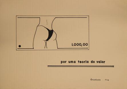 Almandrade, 'Untitled Visual Poem', 1978