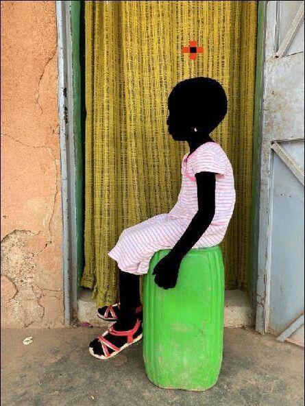 Saidou Dicko, 'Le bidon vert ', 2020
