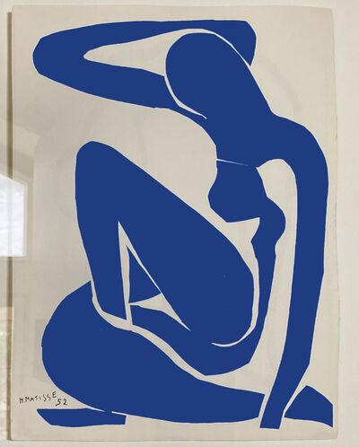 Henri Matisse, 'Nue Bleu I (Seated Blue Nude)', 1952