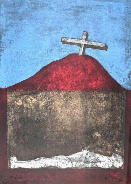 Rufino Tamayo, 'End of a Hero', 1974