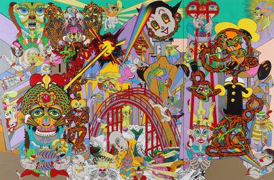 Keiichi Tanaami, 'The Bridge to Another Wolrd', 2011
