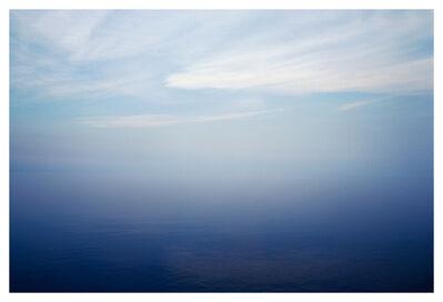 Bernhard Quade, 'Hazy Sea Licata, Sicily, Italy, Seascape', 2008