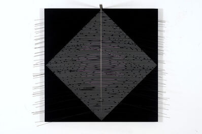 Jesús Rafael Soto, 'Circulo Violeta', 1988
