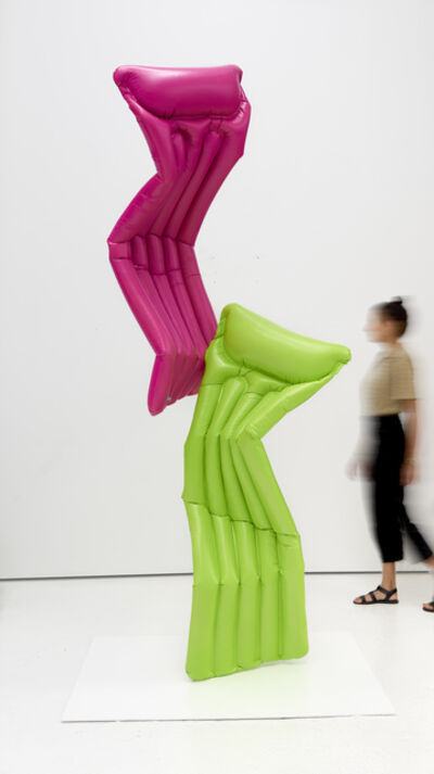 Adam Parker Smith, 'Sabine Pool Float (Lime Green, Hot Pink)', 2020