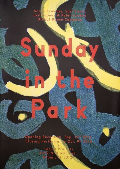Sarah Crowner, 'Sunday in the Park', 2014
