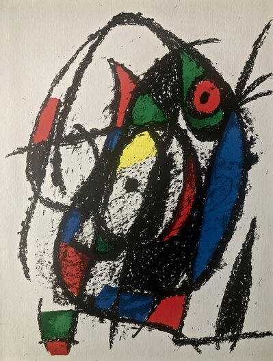 Joan Miró, 'Original Lithograph III', 1975
