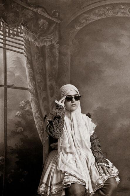 Shadi Ghadirian, 'Qajar #9', 1998