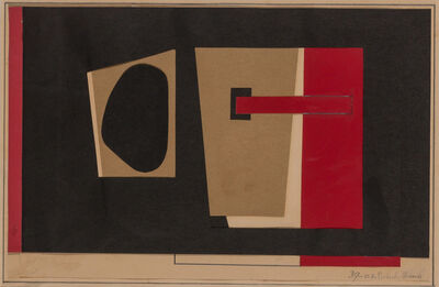 Balcomb Greene, 'Collage', 1939