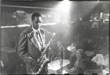 Louis Faurer, 'Sonny Stitt at the Birdland, NYC', ca. 1950