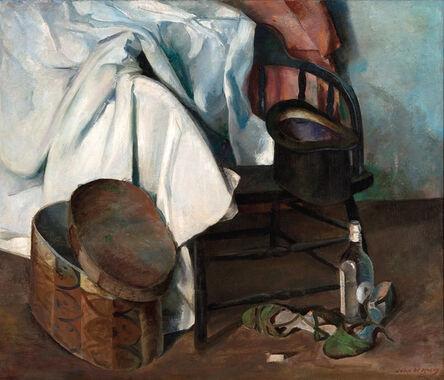 John McCoy, 'Still Life with Hat Box', 1937