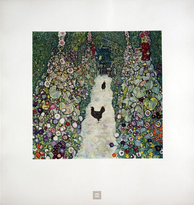 Gustav Klimt, 'Rooster Parade [Gustav Klimt An Aftermath] ', 1931
