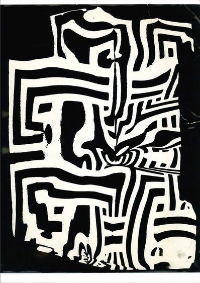 Franco Grignani, 'La distorsione grecata', 1958