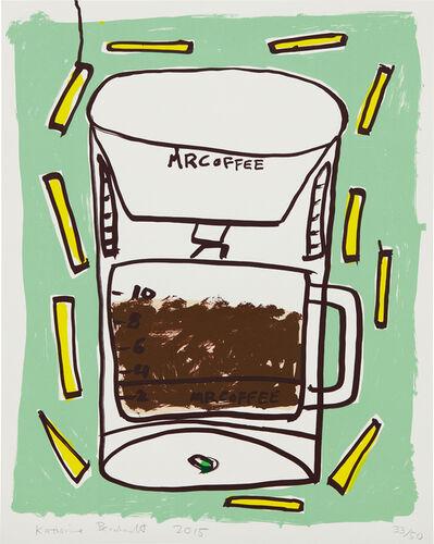 Katherine Bernhardt, 'Mr. Coffee with Fries', 2015