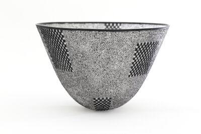 Momoyo Omuro, 'Pate de Verre Bowl ( black )', 2017