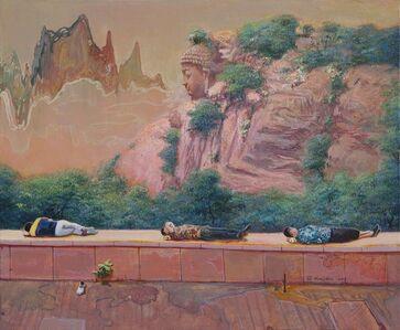 Zhou Jinhua 周金华, 'Dreaming', 2018