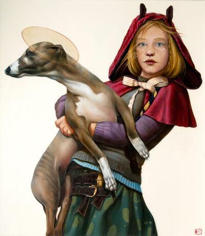 Claudia Giraudo, 'GOLDEN AGE, The Dog spirit', 2020