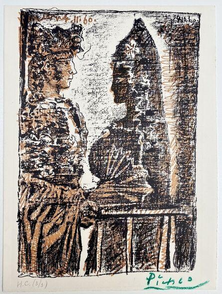 Pablo Picasso, 'Torero y Señorita', 1960