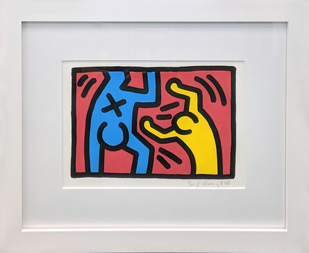Keith Haring, 'UNTITLED (D)', 1987