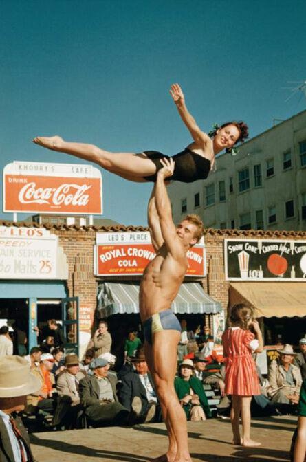 Bob Mizer, 'Ed Holovchik aka Ed Fury (Muscle Beach #17), Santa Monica, California', 1950