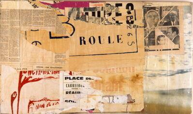 Jacques Villeglé, 'RUE DE LA PERLE, 10 OCTOBER, 1970', 1970