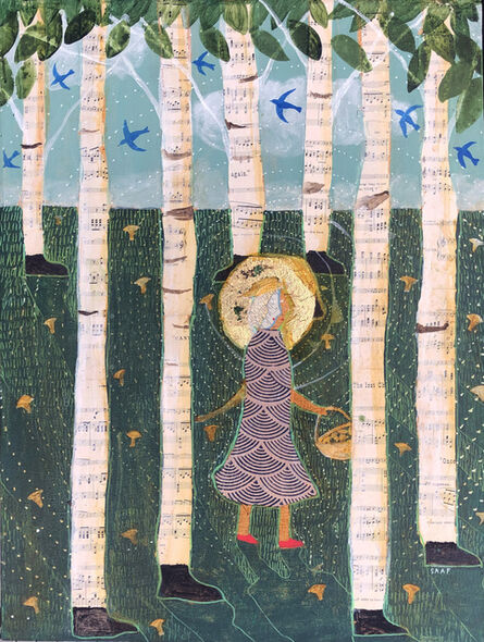 Donald Saaf, 'Walk in the Woods', 2020