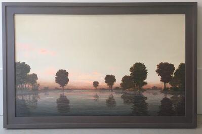 Stephen Hannock, 'Flooded River Rose Dawn', 1994