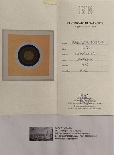 Kenneth Noland, 'Untitled', 1961