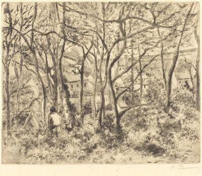 Camille Pissarro, 'Wooded Landscape at L'Hermitage, Pontoise (Paysage sous bois, a L'Hermitage,Pontoise)', 1879