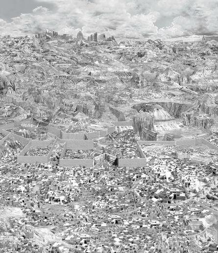 Dean Byington, 'Divided City', 2015