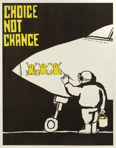 Tomi Ungerer, 'Choice Not Chance', 1967