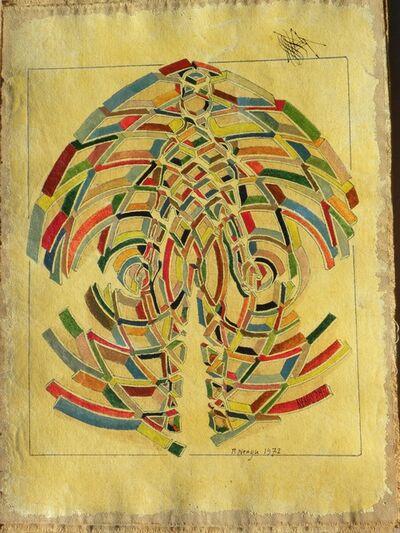Paul Neagu, 'Human 54 Cells', 1972