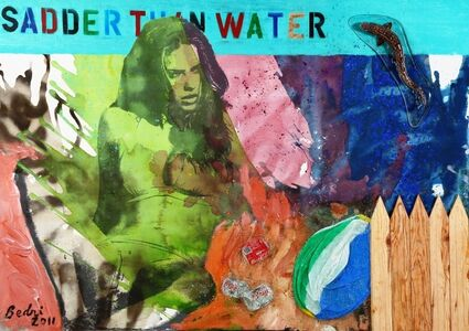 Bedri Baykam, 'Sadder Than Water', 2011