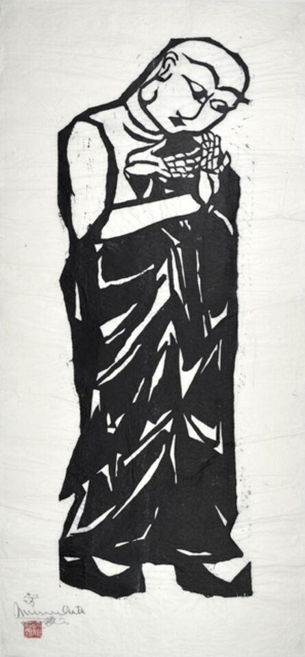 Shiko Munakata, 'Ananda, Master of Memory and Learning', 1960