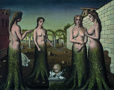 Paul Delvaux, 'The Break of Day (L'aurore)', July 1937