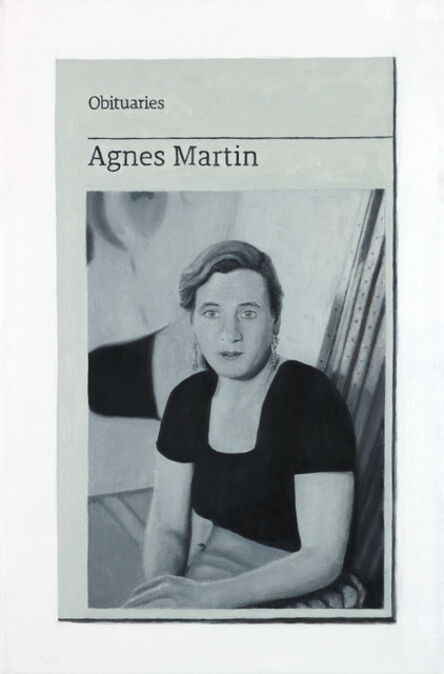 Hugh Mendes, 'Obituary: Agnes Martin '