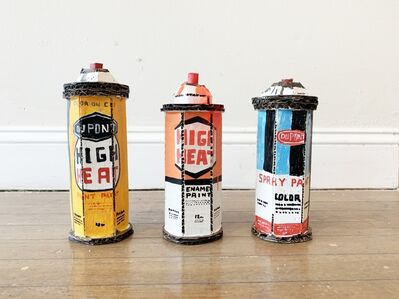 "Bill Barminski, '""Spray Cans""', 2019"