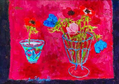 Sue Fitzgerald, 'Tea Bowl and Anemones', 2018