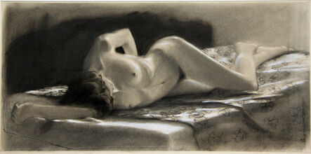Norman Lundin, 'MODEL WITH HER ARM RAISED'