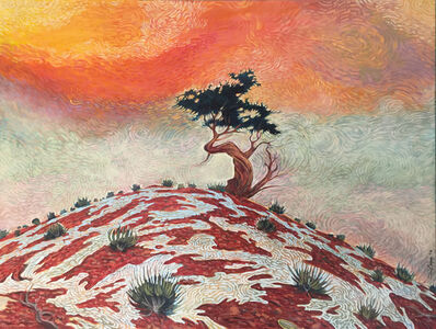 Shonto Begay, 'One Tree Hill', 2016