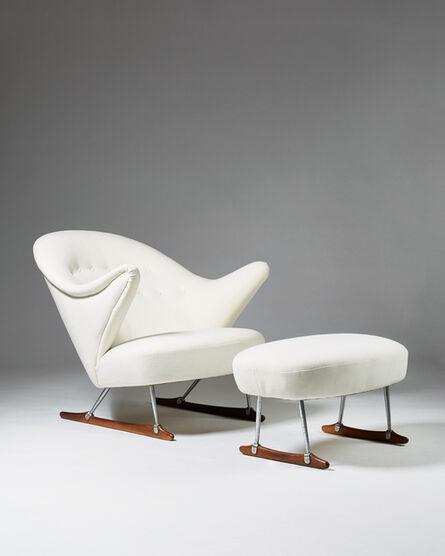 "Börge Mogensen, '""Sleigh Chair""', 1950-1959"
