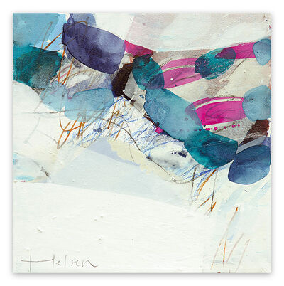 Greet Helsen, 'Color spots VII (Abstract Expressionism painting)', 2014