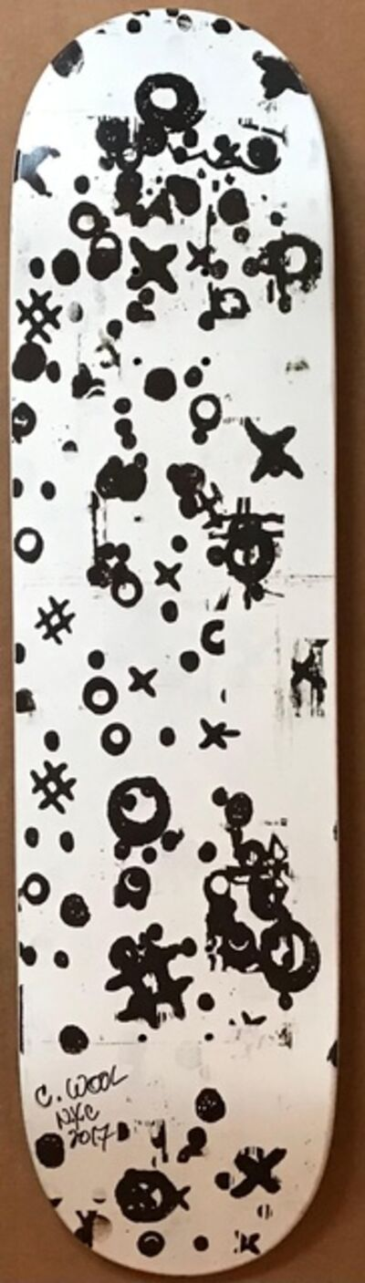 Christopher Wool, 'Skate Deck (Hand Signed and Dated)', 2008-2017