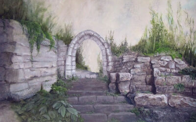 Lynn Christine Kelly, 'through the gateway'